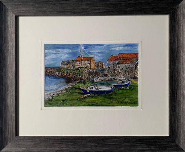 Laura Scrimshaw Craster Harbour